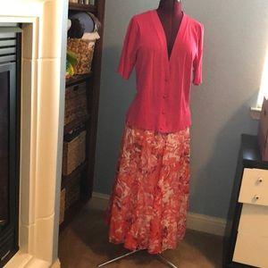 Coldwater Creek Skirt Set